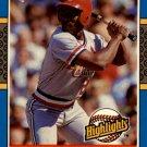 1987 Donruss Highlights 36 Vince Coleman