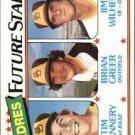 1980 Topps 685 Tim Flannery RC/Brian Greer RC/Jim Wilhelm RC