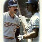 1988 Topps 639 Glenn Braggs/Tony Muser CO TL