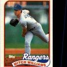 1989 Topps 411 Mitch Williams