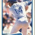 1990 Fleer 296 Julio Franco