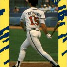 1990 Classic Yellow 25 Jeff Treadway