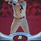 2011 Bowman Platinum Ruby #91 Troy Tulowitzki