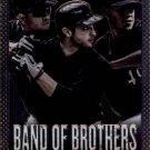 2013 Panini Prizm Band of Brothers #12 Aramis Ramirez/Ryan Braun/Yovani Gallardo