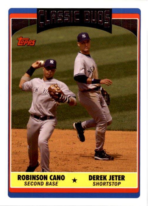 2006 Topps Update 321 Derek Jeter/Robinson Cano CD