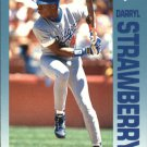 1992 Fleer Citgo The Performer 12 Darryl Strawberry
