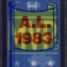 1990 Score Magic Motion Trivia #37 Cal Ripken Jr