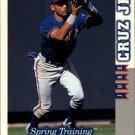1998 Score Rookie Traded 256 Jose Cruz Jr. ST