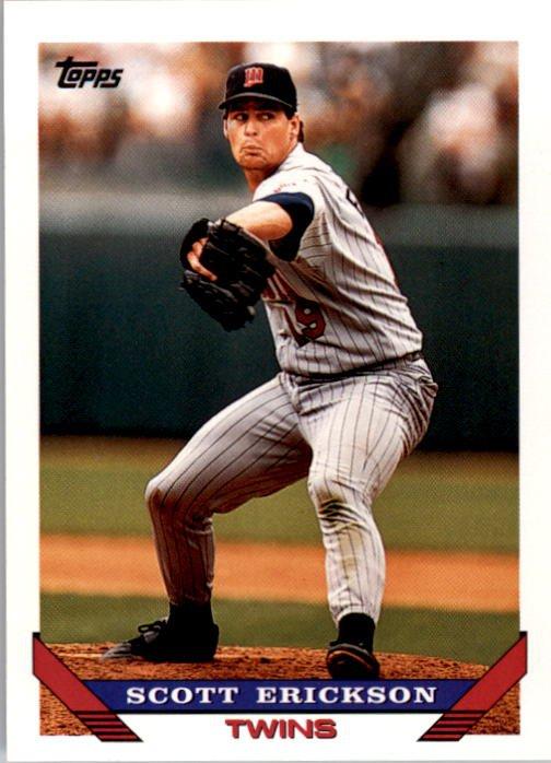 1993 Topps 90 Scott Erickson