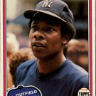 1981 Topps 418 Bobby Brown