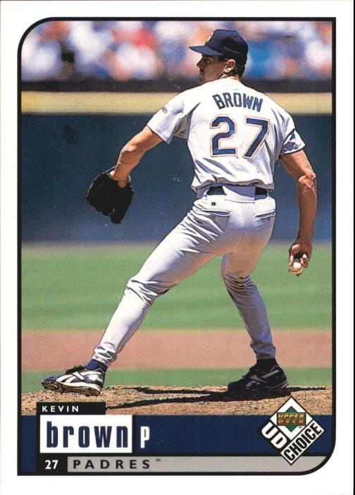1999 UD Choice 136 Kevin Brown