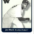 2001 Greats of the Game 74 Joe Black