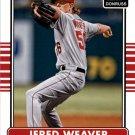 2015 Donruss 103 Jered Weaver