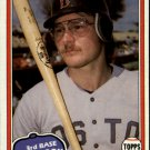 1981 Topps Traded 788 Carney Lansford