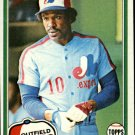1981 Topps 125 Andre Dawson