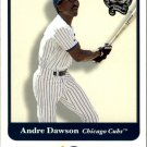 2001 Greats of the Game 43 Andre Dawson