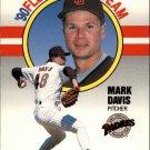 1990 Fleer All-Stars 3 Mark Davis