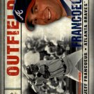 2008 SP Legendary Cuts 18 Jeff Francoeur