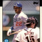 1986 Topps Traded 105T Franklin Stubbs