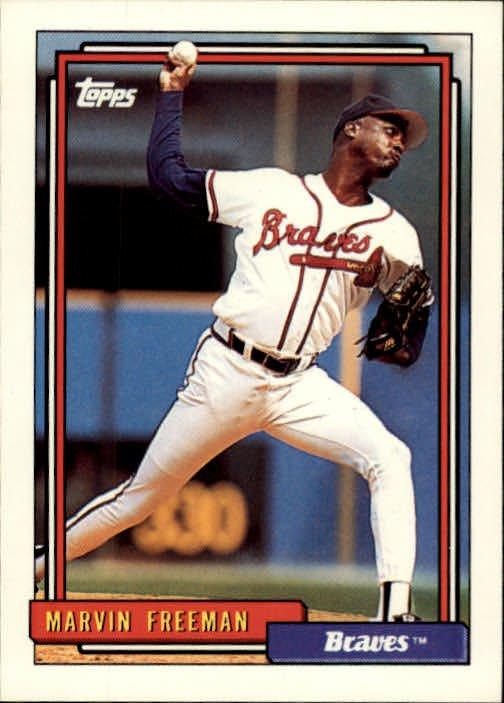 1992 Topps 68 Marvin Freeman