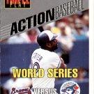 1993 Triple Play Action #30 Joe Carter