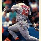 1993 Donruss 429 Mo Vaughn