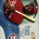 2001 Fleer Futures 218 Reggie Taylor BF