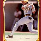 1986 Fleer Star Stickers 87 Tony Pena