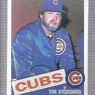 1985 Topps 693 Tim Stoddard