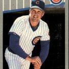 1989 Fleer 426 Mark Grace UER/(Minor League stats/for '88