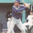 1989 Pacific Cards & Comics Rookies Superstars 20 Gregg Jefferies