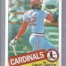 1985 Topps 87 David Green