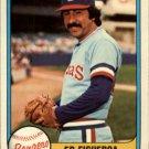 1981 Fleer 624 Ed Figueroa