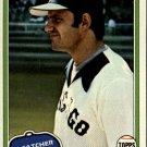 1981 Topps 716 Glenn Borgmann