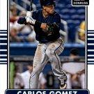 2015 Donruss 115 Carlos Gomez