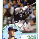 2015 Topps Archives 232 Carlos Gomez