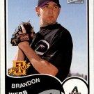 2003 Bazooka Minis #163 Brandon Webb