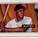1989 Bowman Reprint Inserts 7 Willie Mays 51