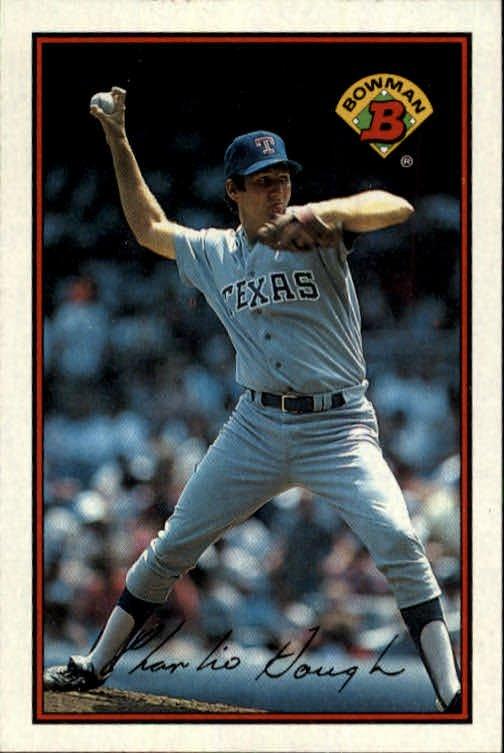 1989 Bowman 224 Charlie Hough