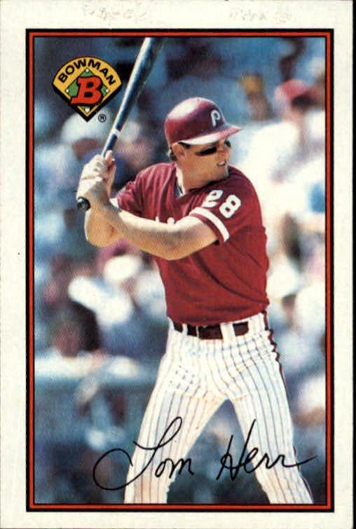1989 Bowman 403 Tom Herr