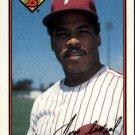 1989 Bowman 405 Juan Samuel