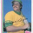 1982 Topps 692 Wayne Gross