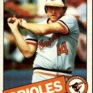 1985 Topps 416 Wayne Gross