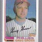 1982 Topps 53 Greg Gross