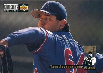 1994 Collector's Choice 654 Tavo Alvarez