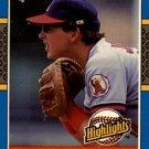 1987 Donruss Highlights 35 Wally Joyner