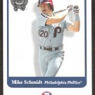 2001 Greats of the Game 85 Mike Schmidt
