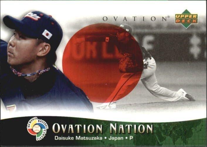 2006 Upper Deck Ovation Nation #DM Daisuke Matsuzaka
