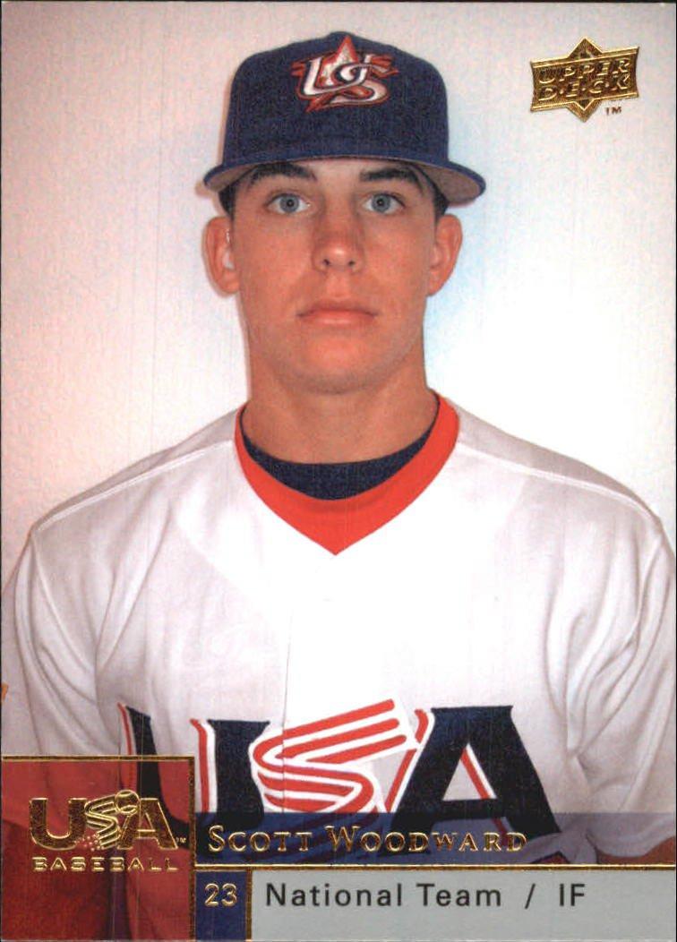 2009 Upper Deck USA National Team SW Scott Woodward