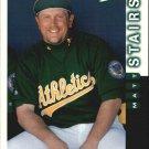 1998 Score 164 Matt Stairs